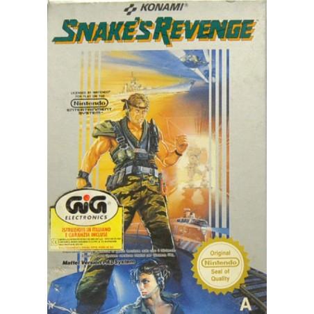 Snake's Revenge - NES