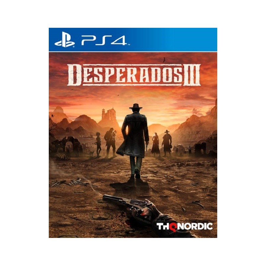 Desperados 3 - PS4 - The Gamebusters