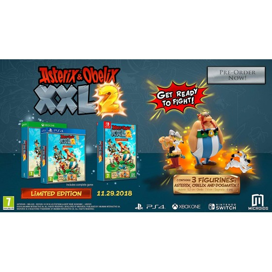 Asterix & Obelix XXL 2 - Limited Edition - Switch
