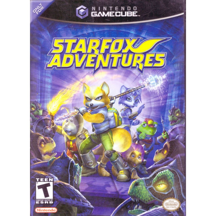 Star Fox Adventures - USA Version - Gamecube