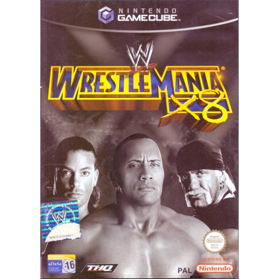 WWE WrestleMania X8 - Gamecube