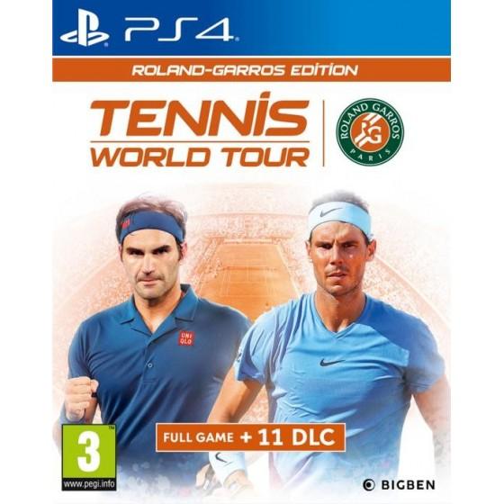 Tennis World Tour: Roland - Garros Edition  - PS4