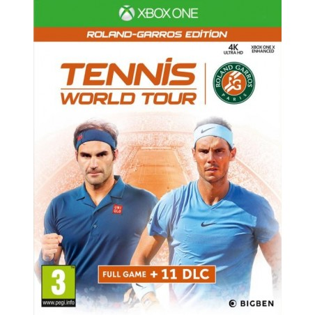 Tennis World Tour: Roland - Garros Edition - Preorder Xbox One