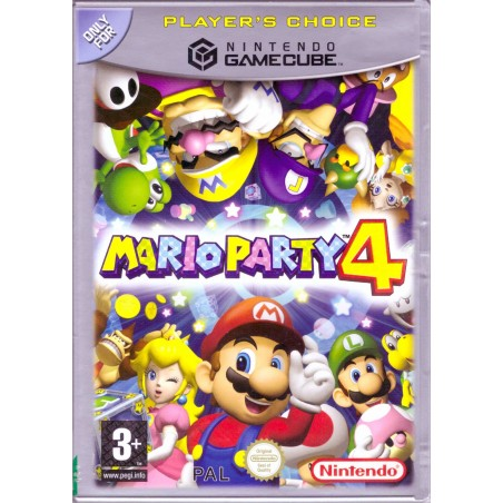 Mario Party 4 - Player's Choice - Gamecube
