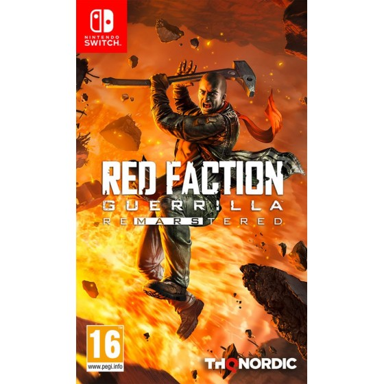 Red Faction Guerrilla Re-mars-tered   -  Switch - The Gamebusters