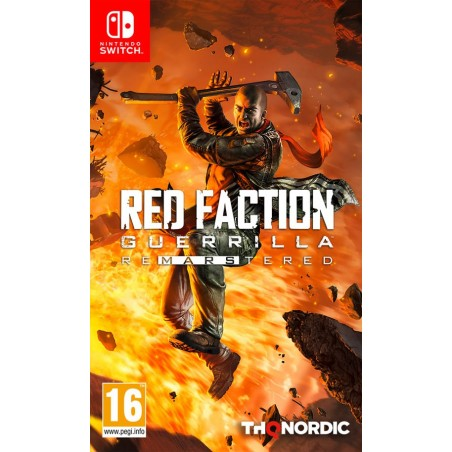 Red Faction Guerrilla Re-mars-tered - Preorder Switch - The Gamebusters