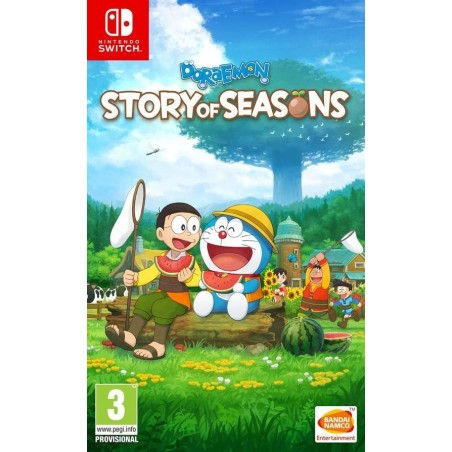 Doraemon: Story Of Seasons - Preorder Switch - The Gamebusters