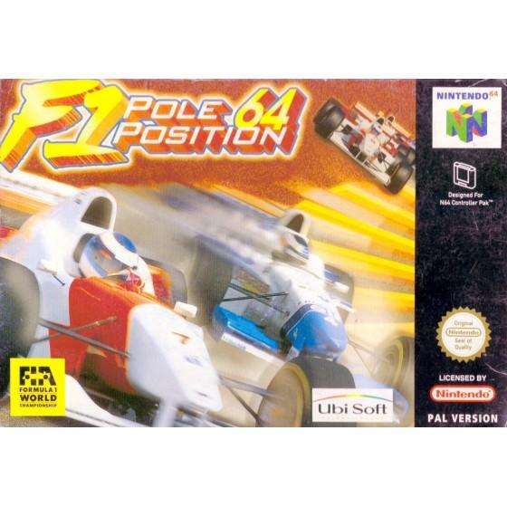 F1 Pole Position 64 - Nintendo 64