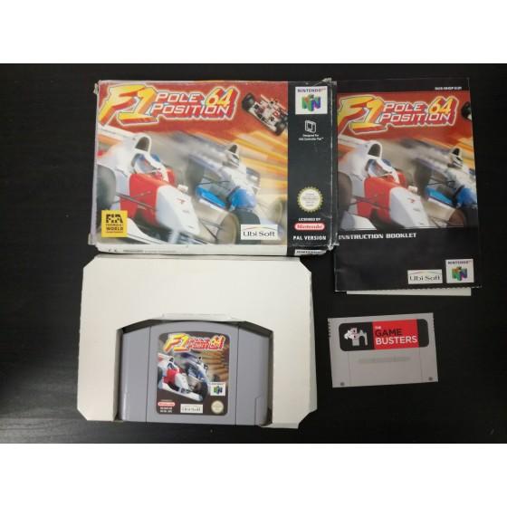 F1 Pole Position 64 - Nintendo 64 usato