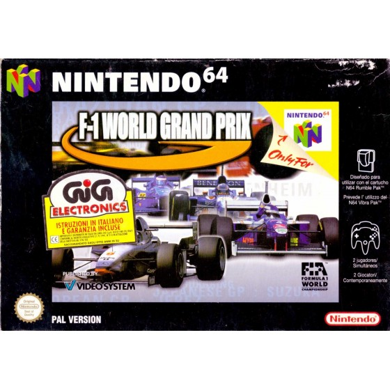 F1 World Grand Prix - Nintendo 64 usato