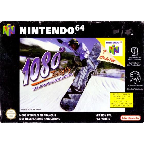 1080° Snowboarding - Nintendo 64 usato