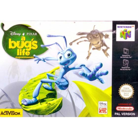 Disney A Bug's Life - Nintendo 64 usato