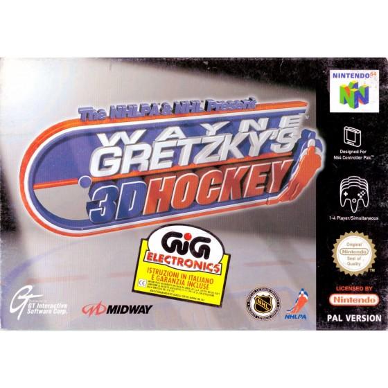 Wayne Gretzky's 3D Hockey - Nintendo 64 usato