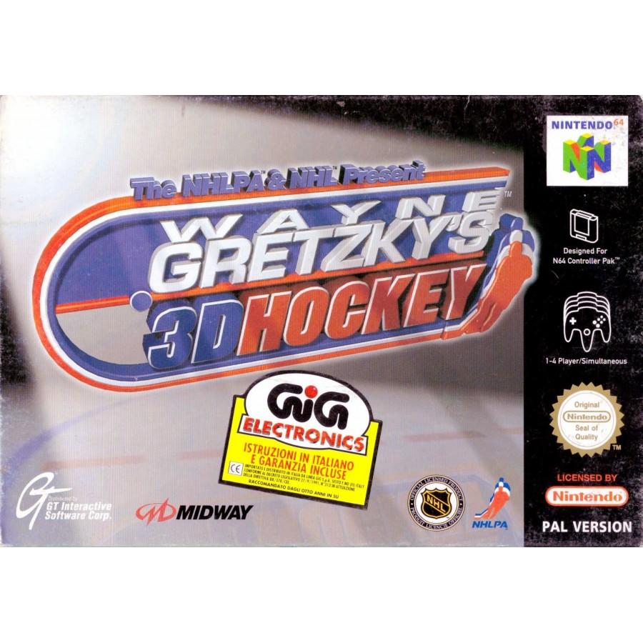 Wayne Gretzky's 3D Hockey - Nintendo 64