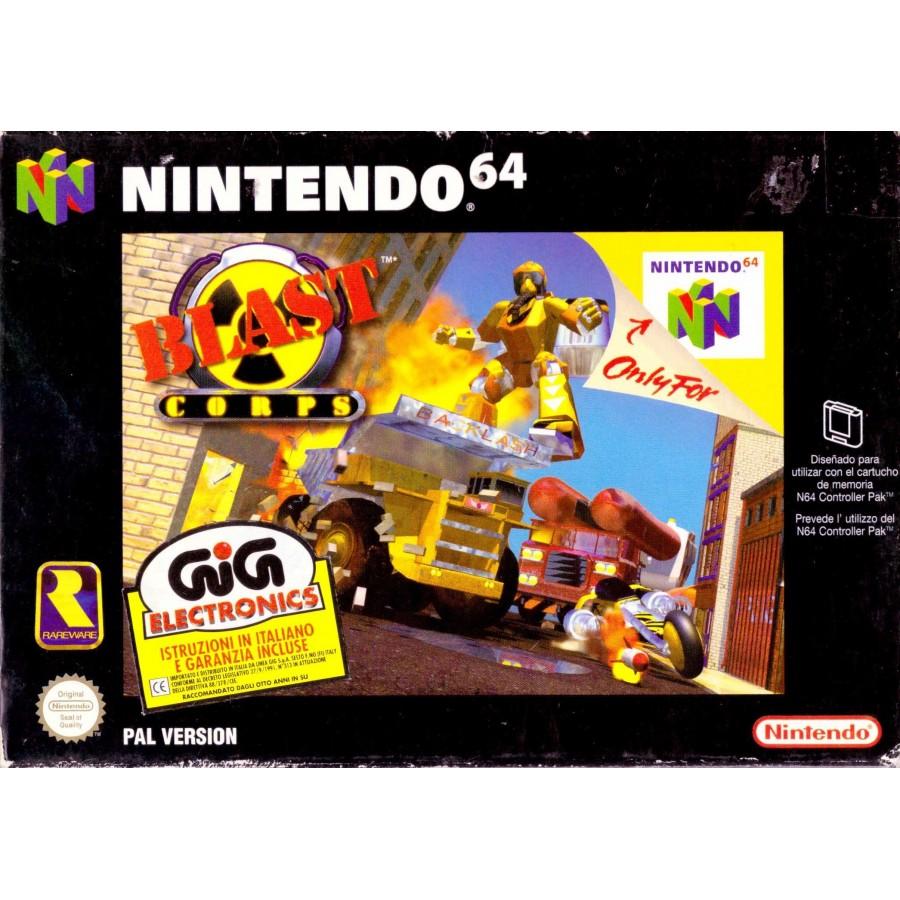 Blast Corps - Nintendo 64