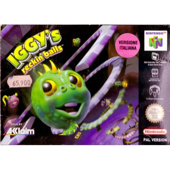 Iggy's Reckin' Balls - Nintendo 64