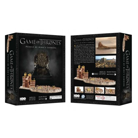 3D Puzzle - King's Landing (260 pezzi) - Game of Thrones