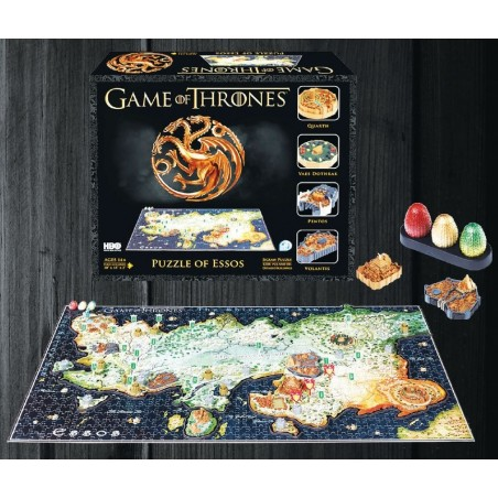 3D Puzzle - Essos (1350 pezzi) - Game of Thrones