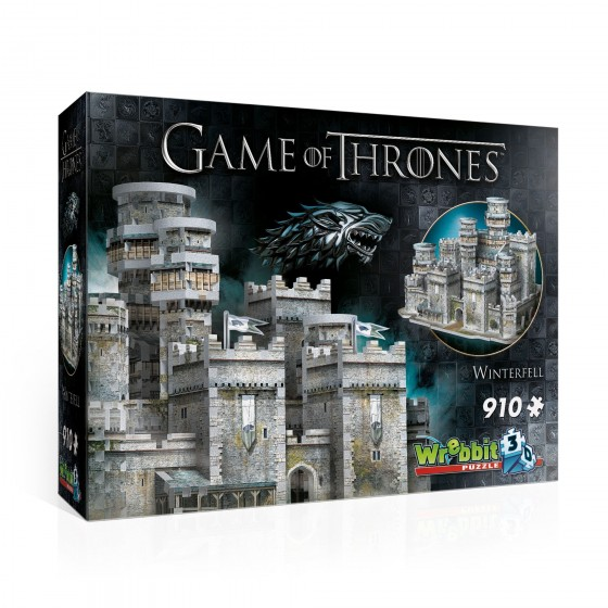 3D Puzzle - Winterfell (910 pezzi) - Game of Thrones