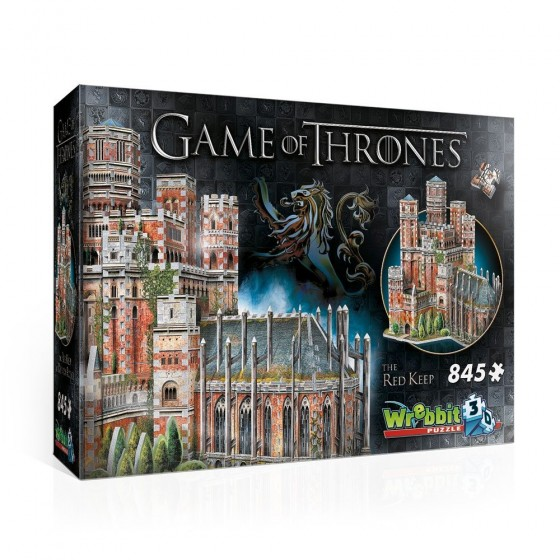 3D Puzzle - The Red Keep (845 pezzi) - Game of Thrones