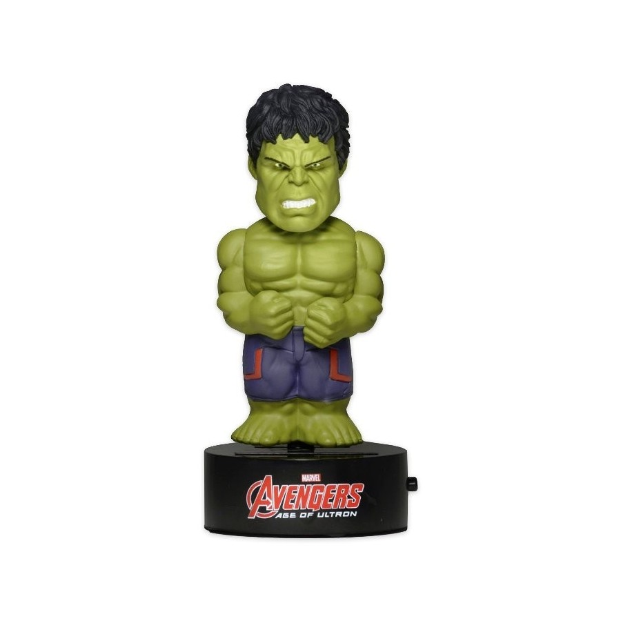 Neca - Avengers Age Of Ultron - The Hulk Solar Powered Body Knocker Figure