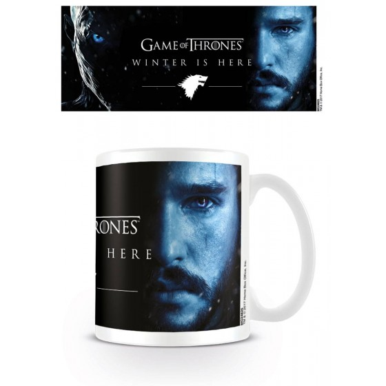 Tazza - Winter Is Here - Jon Snow - Game of Thrones
