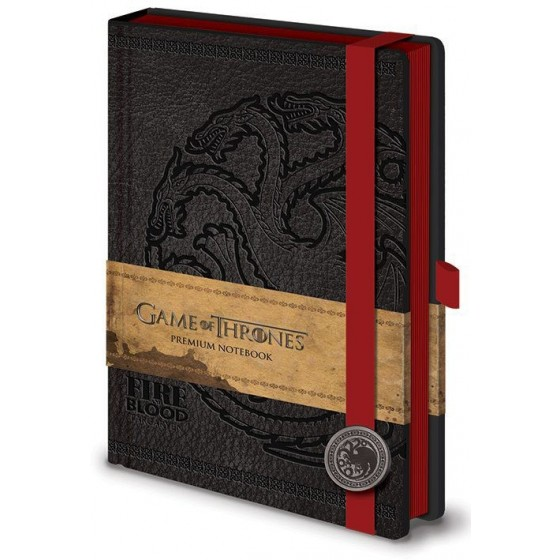 Premium Notebook A5 Targaryen- Game of Thrones