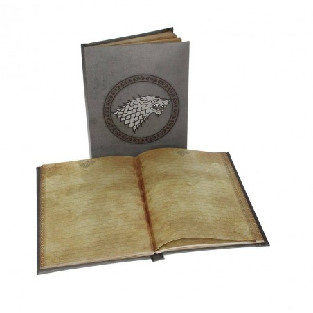 Notebook A5 with Light - Stark - Game of Thrones