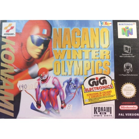 Nagano Winter Olympics 98 - Nintendo 64