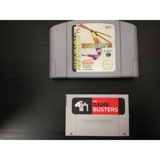 Nagano Winter Olympics 98 - Nintendo 64 usato