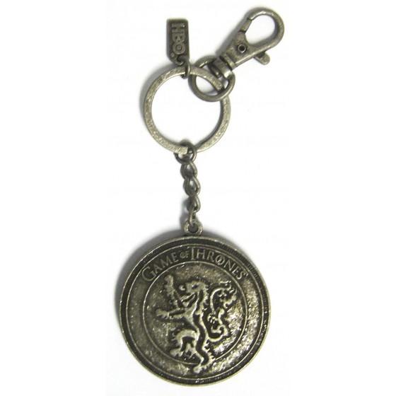 Portachiavi in metallo - Scudo Lannister - Game of Thrones