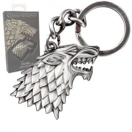 Portachiavi in metallo - Sigillo Stark - Game of Thrones