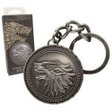 Game of Thrones Metal Keychain Stark Shield