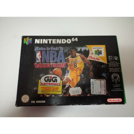 Kobe Bryant in NBA Courtside - Nintendo 64