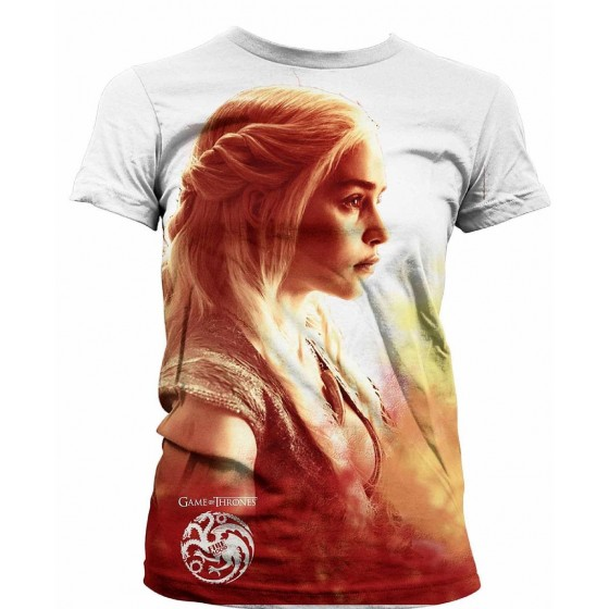 T-Shirt - Daenerys Heatwave - Game of Thrones Ladies Sublimation - The Gamebusters