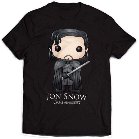 Game of Thrones T-Shirt Jon Snow Bling Art - The Gamebusters