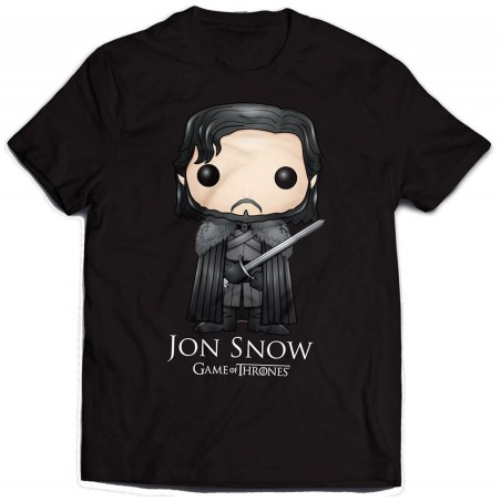 Game of Thrones T-Shirt Jon Snow Bling Art - The Gamebusters