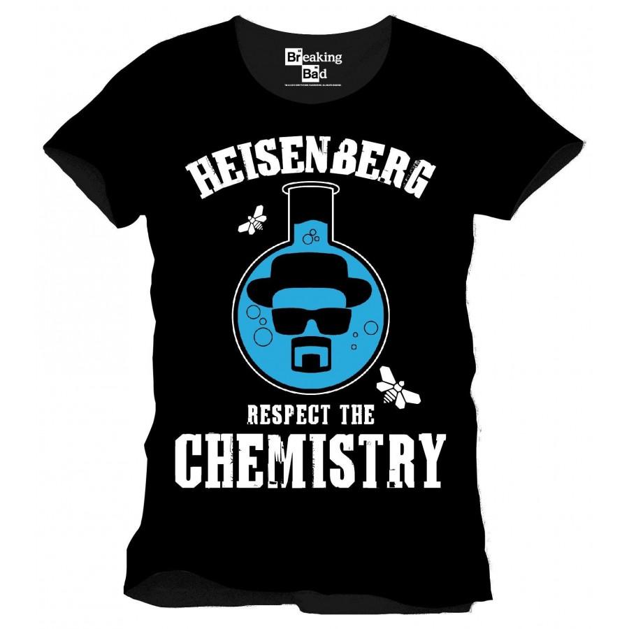 T-Shirt - Breaking Bad - Rispetta la Chimica