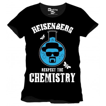 T-Shirt - Breaking Bad - Rispetta la Chimica