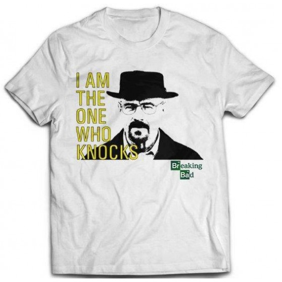 T-Shirt - I Am The One Who Knocks - Breaking Bad