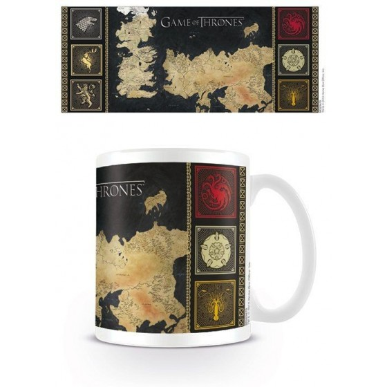 Game of Thrones Mug Map