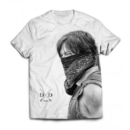 T-Shirt - Daryl Bandana - The Walking Dead