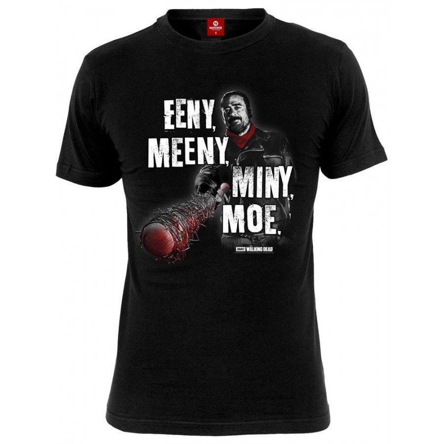 T-Shirt - The Walking Dead - Eeny, Meeny, Miny, Moe - The Gamebusters