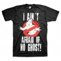 T-Shirt - I Ain't Aifraid Of No Ghost - Ghostbusters - The Gamebusters