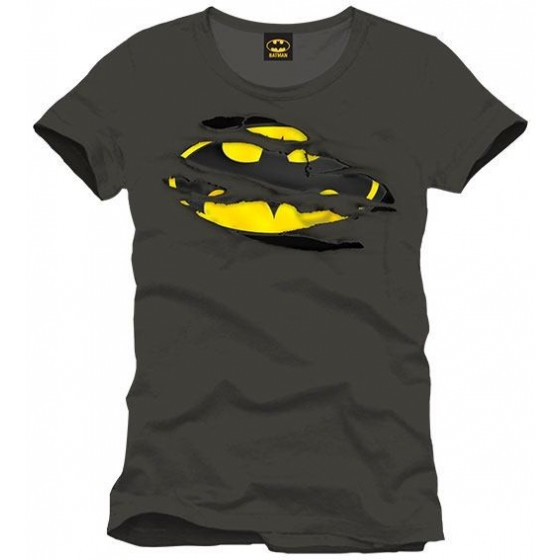 T-Shirt - Batman Logo strappato - Batman