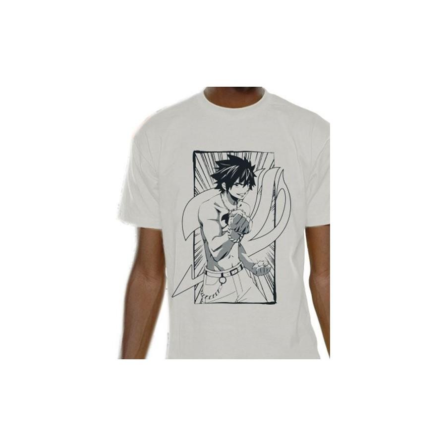T-Shirt -Fairy Tail - Gray Line
