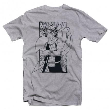 T-Shirt -Fairy Tail - Natsu Line