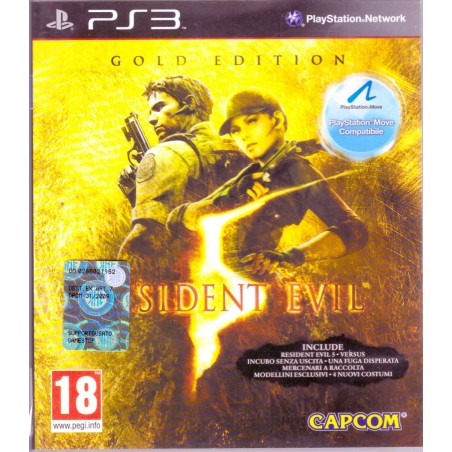 Resident Evil 5 - Gold Edition - PS3 Usato