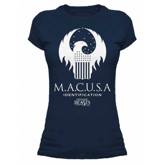 T-Shirt donna - MACUSA - Fantastic Beasts