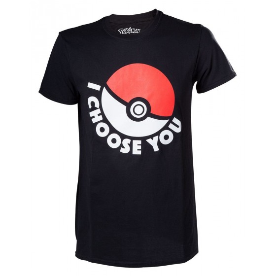 T-Shirt - I Choose You - Pokemon